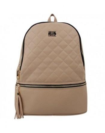 Gorgeously Fashion Quilting Backpack Feminine