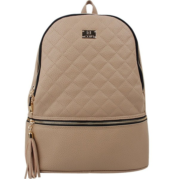 Gorgeously Fashion Quilting Backpack Feminine