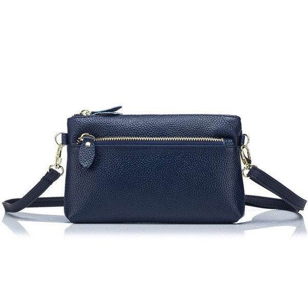 Aladin Leather Crossbody Wristlet Handbag