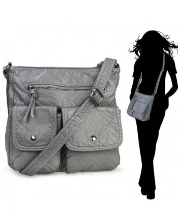 Hoxis Lightweight Pocket Washed CrossBody