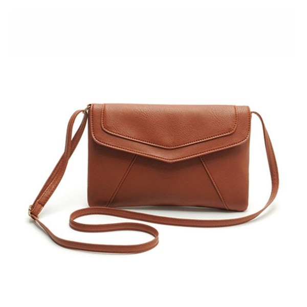 ZOONAI Leather Envelope Crossbody Shoulder