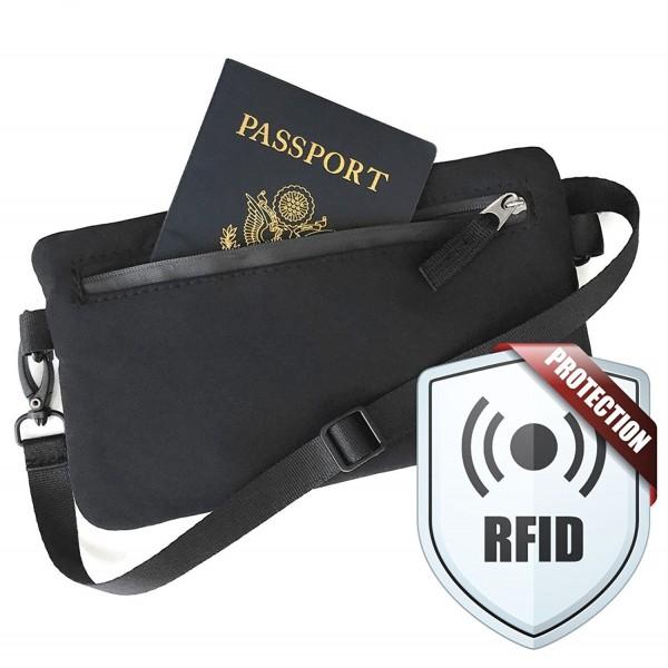 RFID Passport Wallet Travel Crossbody