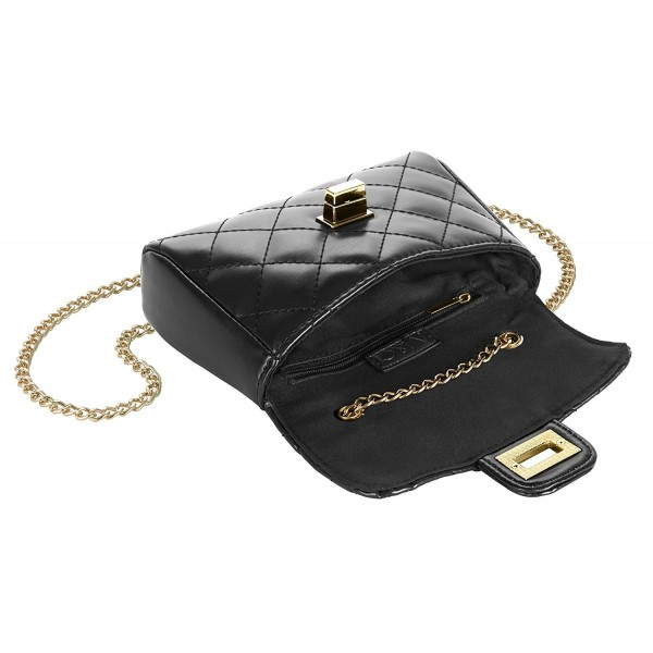 Womens small Quilted Leather Handbag