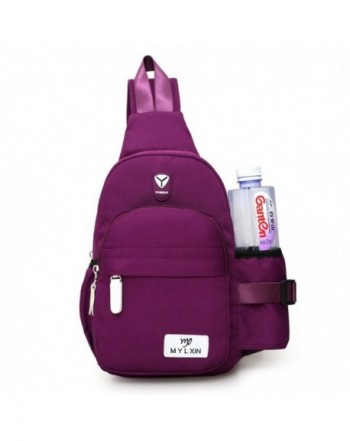 Womens Resistant Shoulder Backpack Purple