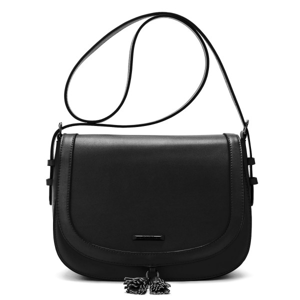 ECOSUSI Womens Saddle Crossbody Shoulder