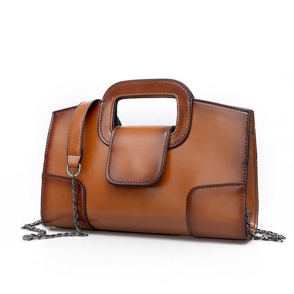 Sanxiner Leather Handbags Clutches Crossbody