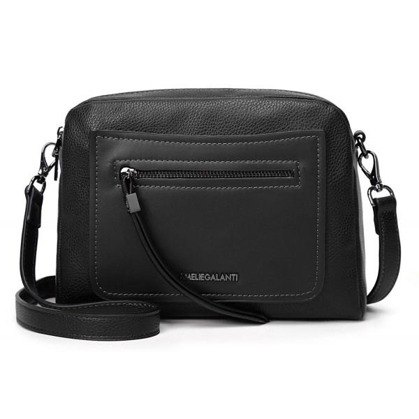 AMELIE GALANTI Pocket Crossbody Leather