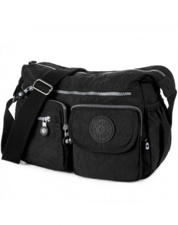 Crossbody Travel Nylon Multi pocket Shoulder