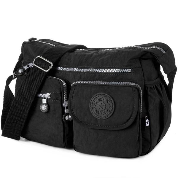 Crossbody Travel Nylon Multi pocket Shoulder
