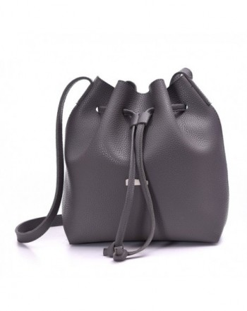 Drawstring Bucket Artmis Cross body Leather