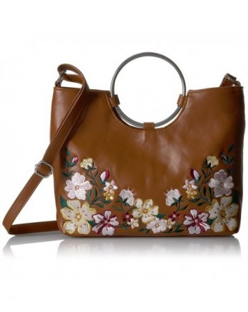 T Shirt Jeans Floral Ring Bag