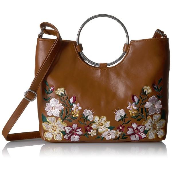 T Shirt Jeans Floral Ring Bag