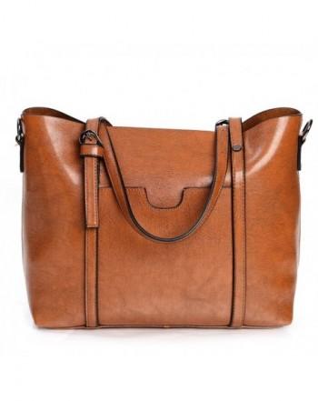 Vintga Leather Shoulder Handbags Crossbody