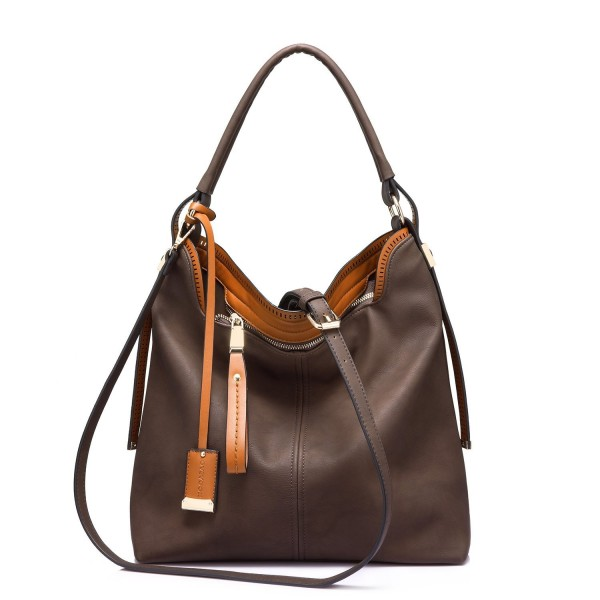 Handbags Casual Crossbody Spacious Coffee