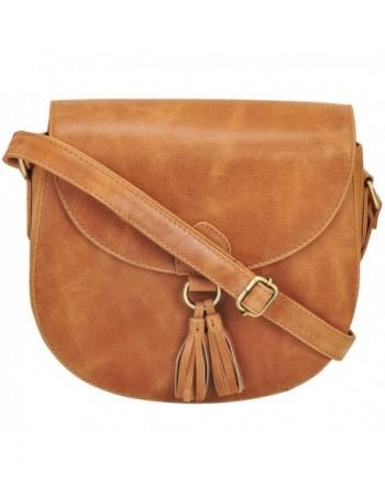 Handmade Leather Saddle Adjustable Shoulder