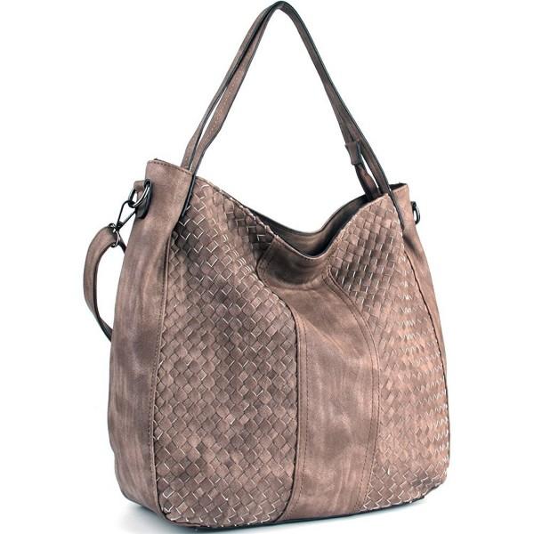 WISHESGEM Handbags Top Handle Fashion Shoulder