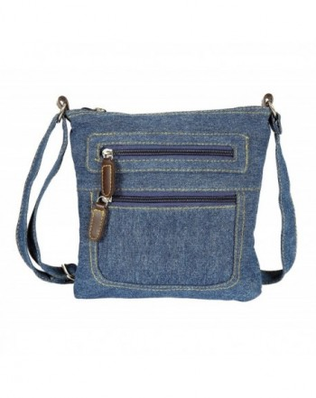 JollyChic Small Crossbody External Pockets