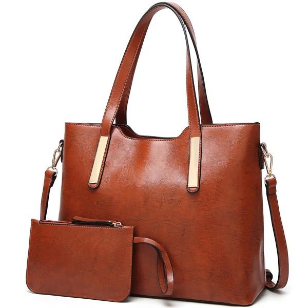 Handle Satchel Purses Handbags Shoulder