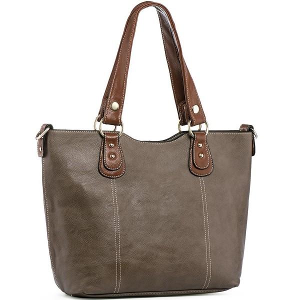 UTAKE Handbags Handle Shoulder Leather