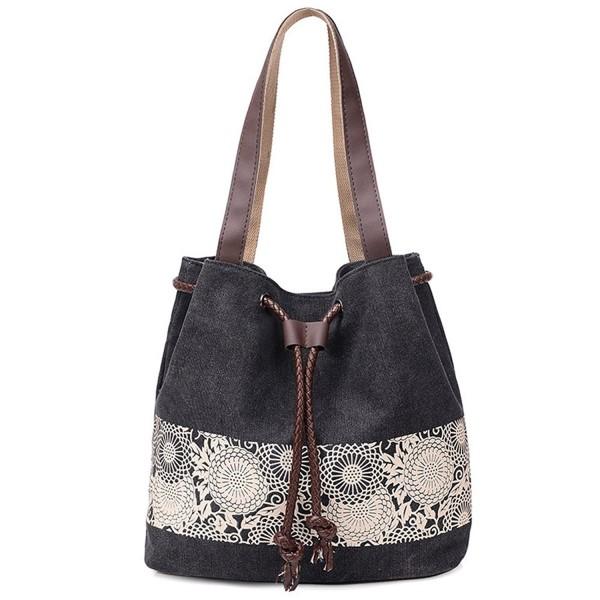 Hobo Shoulder Bag with Big Snap Hook Hardware