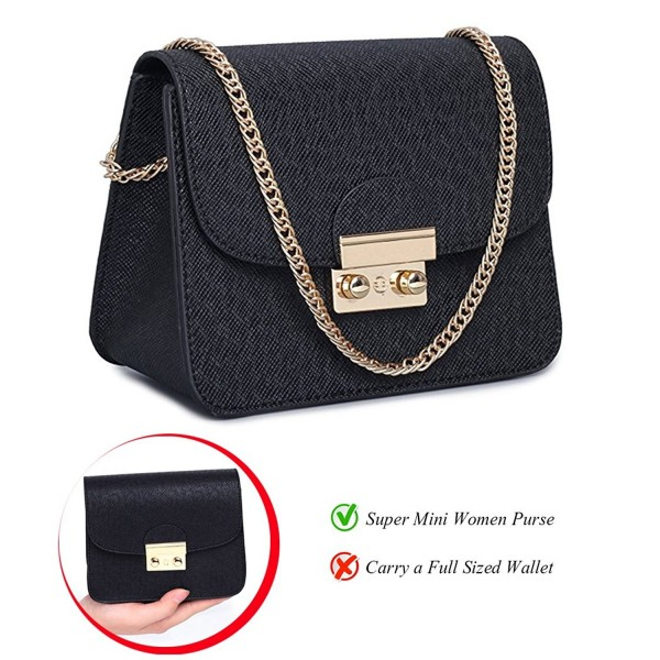 Leather Crossbody Evening Clutches Shoulder