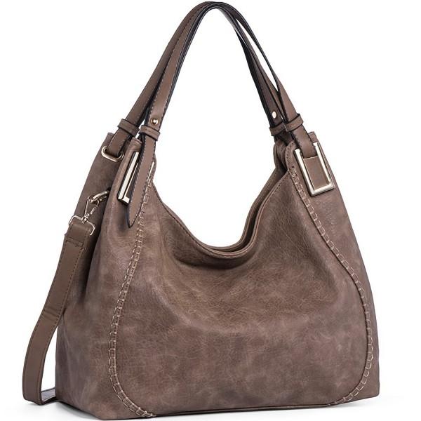 JOYSON Handbags Leather Shoulder Top Handle