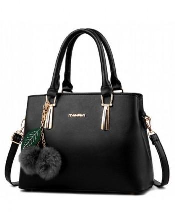 Dreubea Leather Handbag Shoulder Crossbody