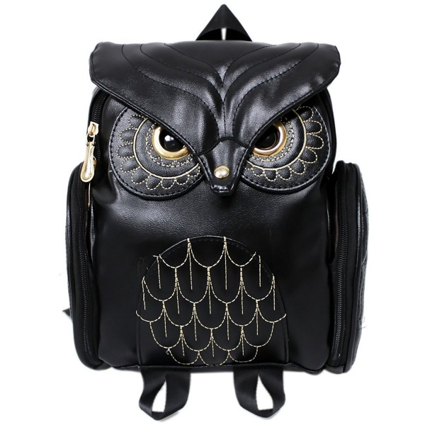 Leather Cartoon Backpack Children Students