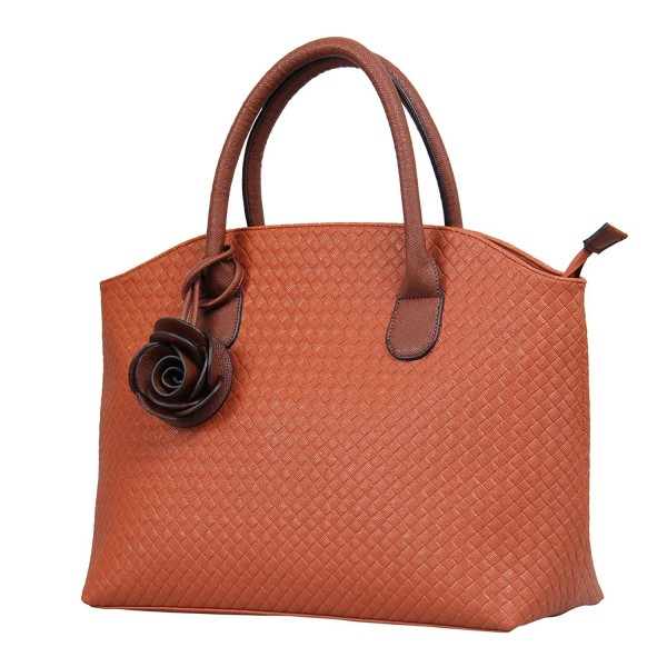 Hynes Victory Woven Pattern Handbags