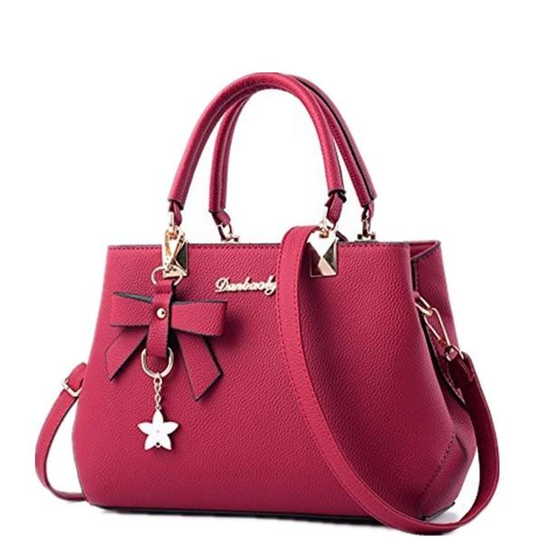 8c566098e4d5 Fashion Handbags Designer Shoulder Crossbody - Burgundy - CB186WQI2EG