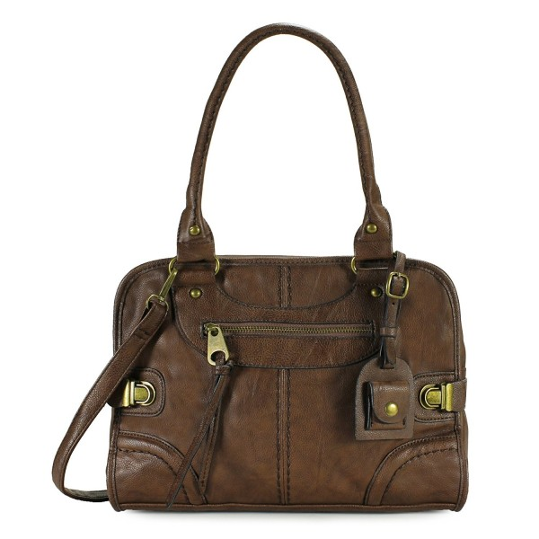 Scarleton Large Satchel H106821 Coffee