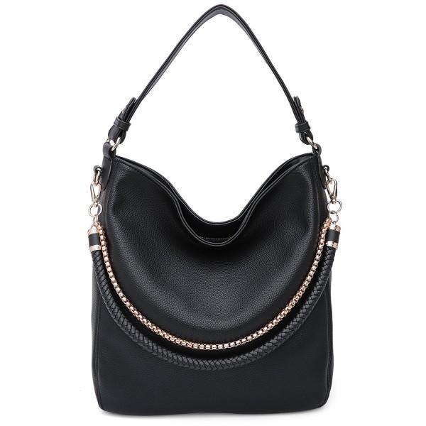 Twister Designer Handbags Crossbody Black Scarlett