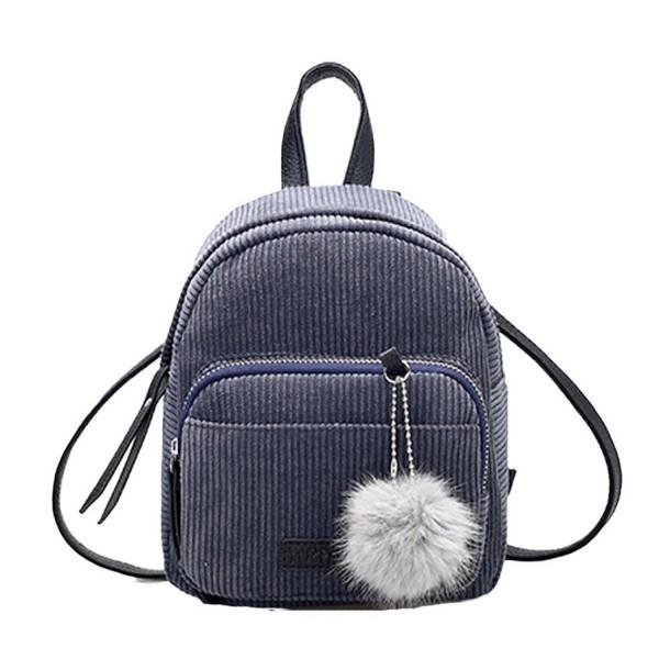 Creazrise Fashion Thicken Corduroy Backpacks