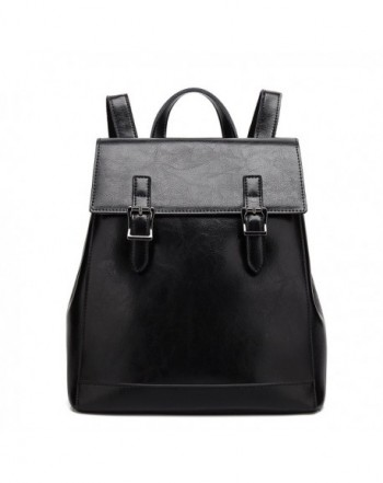 Leather Backpack Casual Daypack Capacity