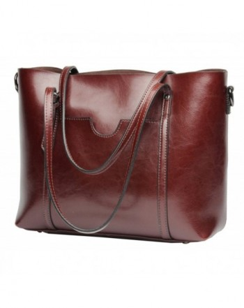 Molodo Satchel Stylish Shoulder Wine red