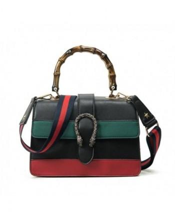 messenger Handbag Shoulder Bamboo handle