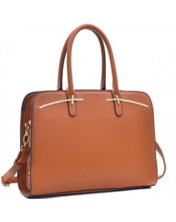 MKY Satchel leather Compartment Shoulder