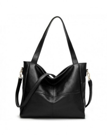 On Clearance - S-ZONE Women's Genuine Leather Designer Handbags Purse Ladies Top Handle Tote Satchel Shoulder Crossbody Bags