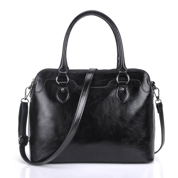 Cherish Kiss Women's Genuine Leather Tote Bag Cross Body Shoulder Padlock Handbags