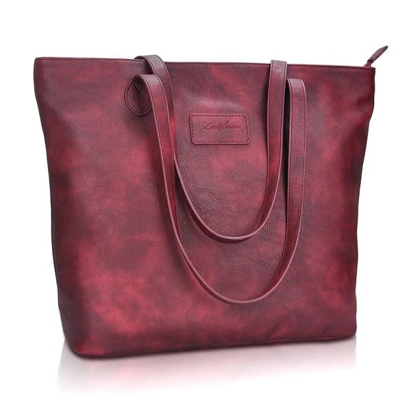 Handbags Purses ZMSnow Shoulder 1 Winered