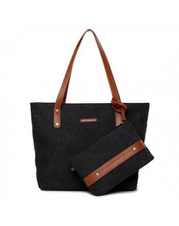 Sornean Portable Canvas Shoulder Handbag