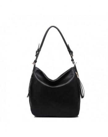Fashion Road PU Leather Womens Shoulder Bags Top-Handle Handbag Tote Purse Bag