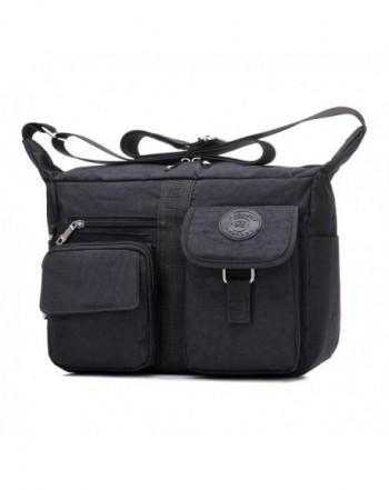 Versace Collection Womens Leather Pebbled Satchel Handbag