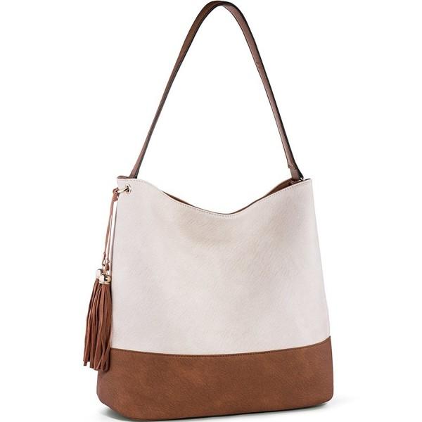 846cdf06bf7a Handbags for Women Hobo Purses Top Handle Satchel Handbags PU Leather  Shoulder Bag - Brown - CS183R4HZ9G