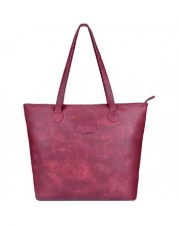 Handbags Shoulder Sunny Snowy 8014 winered