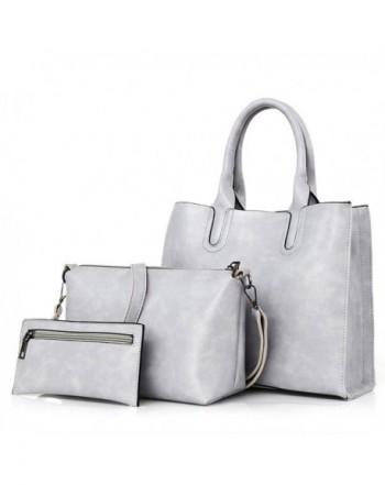 Women's Handbag Leather Tote Shoulder Bags Wallet and Handbag 2 Piece Set Genuine Bag