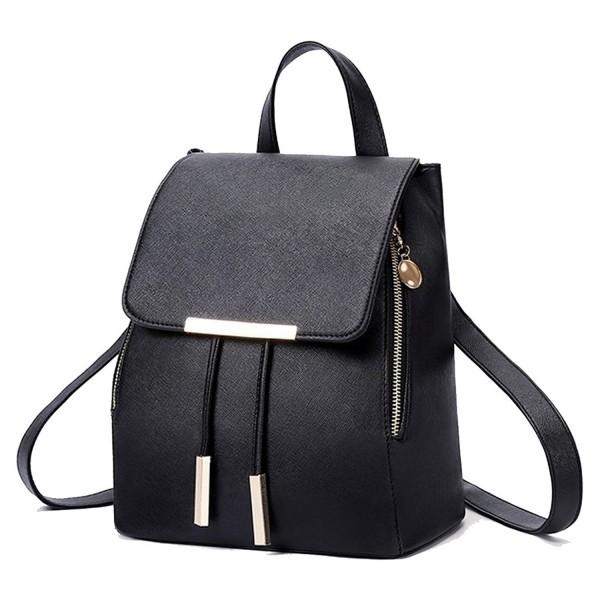 Peak Mall Leather Backpack Shoulder