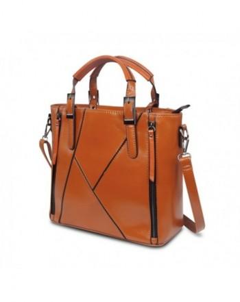 Patchwork Handbags ZZSY Designer Crossbody