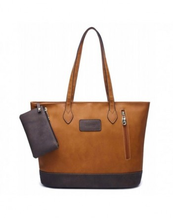 ilishop Leather Handbag Contrast Shoulder