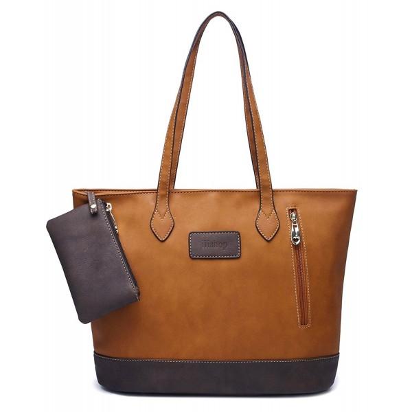 Ili Leather Handbag Contrast Shoulder